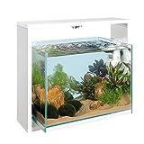 Ferplast Samoa 40Open Aquarium 48,6x 25x H 42cm 30l weiß